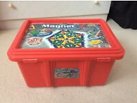 Large box of Magnetix/Geomag