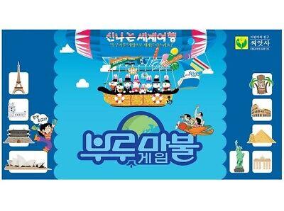 Korean Board Game Blue Marble 16000 Monopoly Money Game Family SING-SING-GIRL