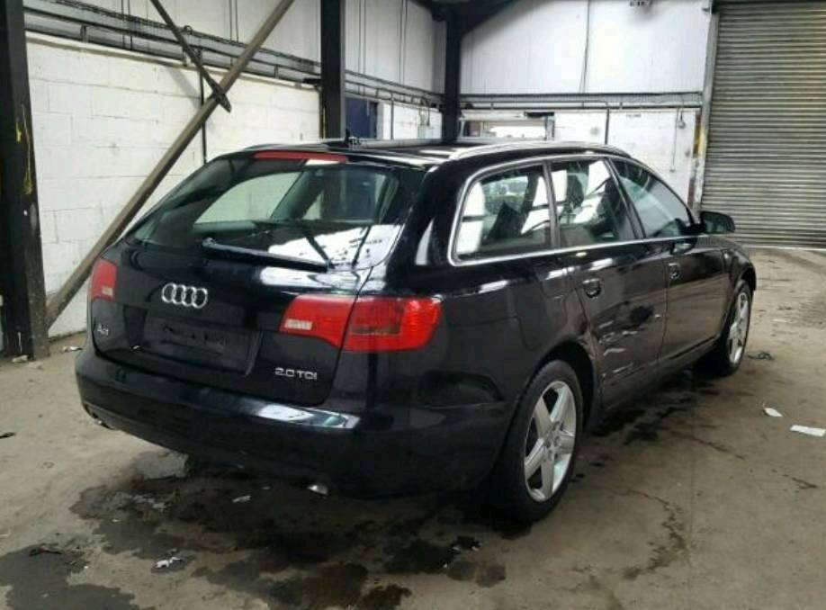 AUDI A6 C6 2.0L TDI AVAILABLE FOR SPARE PARTS ANY ENQUIRY PLEASE