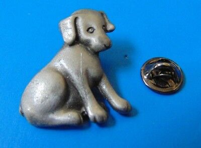 Labrador Retriever Lab Dog Puppy PEWTER PIN LAPEL for sale  Ottawa