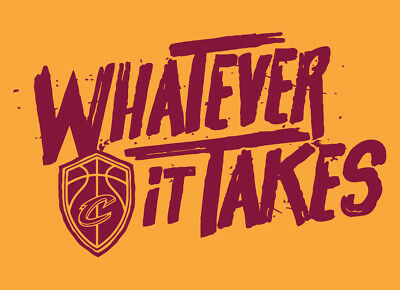 Cleveland Cavs Gold Whatever It Takes Shirt 2018 Playoffs Lebron James Cavaliers