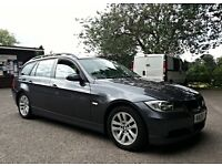 2006 BMW 320d SE Touring E91, Grey, Full Service History, Long MOT, 1 Prev Owner, 2 Keys, HPI Clear