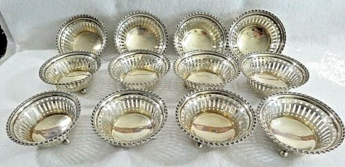 Towle Sterling Silver Set of 12 Nut Cups #2780