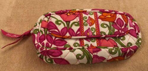 Vera Bradley Mirror Cosmetic Bag in Lilli Bell - Make-up Bag - Floral, Pink