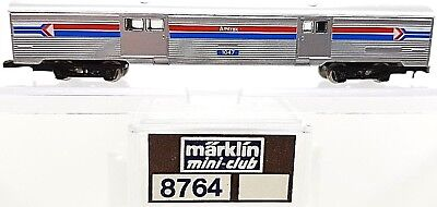 Z Scale Marklin 8764 Amtrak Baggage Passenger Car