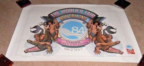 GORGEOUS & RARE 1984 NEW ORLEANS WORLD