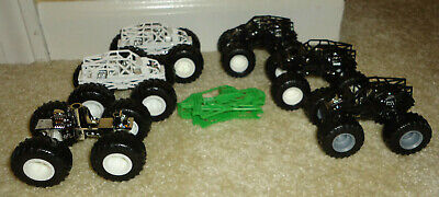 6+ Hot Wheels 1/64 Tube Chassis Monster Jam & Live Trucks- Customizer's Special!