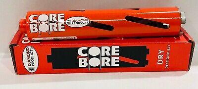 2-inch Diamond Products Heavy Duty Orange Diamond Core Drill Dry Bit