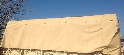 Used, M35A2 2.5 TON CARGO COVER TAN M35A2 M-Series Military Truck Vinyl  for sale  Augusta