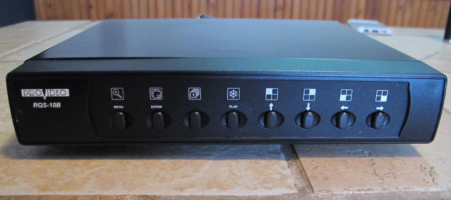 Pro Video RQS-10B B/W Quad Splitter