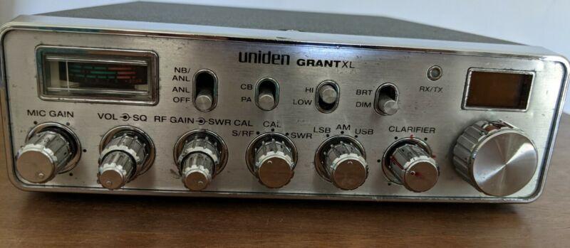 UNIDEN GRANT XL 40 CHANNEL CB RADIO Read Description Please