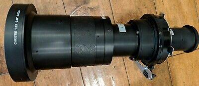 Christie projector lens fixed lens 1.2: 1 Minolta (38-809095-01 / 104-111101)