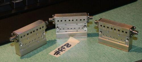 (3) INMET ATTENUATOR 3DB DC-6GHZ 64671 RF8 6GHZ RF