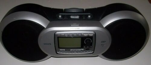 🔥 NICE WORKS GREAT Sirius Sportster SP-R2 Receiver SP-B1a PORTABLE Boombox 🔥