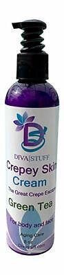 Crepey Skin Body & Face Cream With Hyaluronic Acid, Alpha Hydroxy ,Green Tea