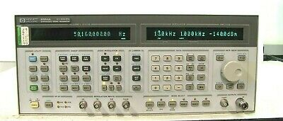 Hp 8664a Synthesized Signal Generator 0.1 - 3000 Mhz Option 004 008 Works Well