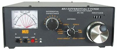 MFJ-986 HF (1.8-30MHz) Manual Roller Tuner w/ SWR/Wattmeter, Handles 3KW. Buy it now for 331.65