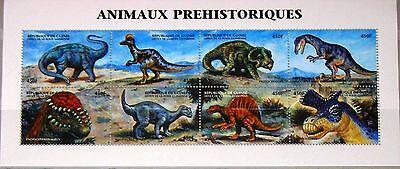 GUINEA 1999 KLB 2351 58 DINOSAURIER DINOSAURS PREHISTORIC ANIMALS FAUNA TIERE
