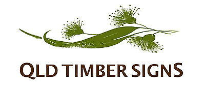 Qld Timber Signs