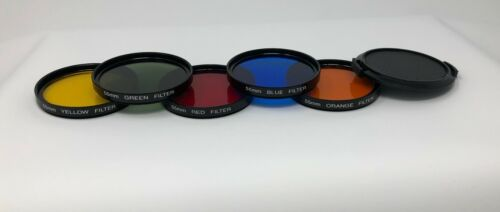 55 mm Color Filter kit for Canon, Sony, Nikon, Olympus