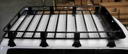 Roof Rack Full Length FULLY ENCLOSED Steel 220x125x16cm 4WD NEW Malaga Swan Area Preview