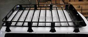Roof Rack FULL LENGTH FULLY ENCLOSED Steel Gutter Mount Deflector Malaga Swan Area Preview
