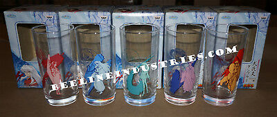 Rare Banpresto Inuyasha Drinking Glass Set Japan Import Brand New, US Seller