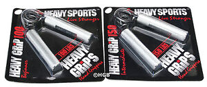 Heavy-Grips-Hand-Grippers-POPULAR-COMBO-HG100-150-NEW-Build-Grip-Finger-Bands