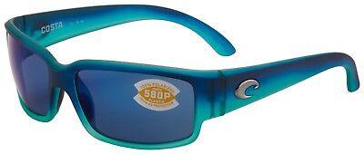 Costa Del Mar Caballito Sunglasses CL-73-OBMP 580P Caribbean Blue Polarized (Caballito Del Mar)