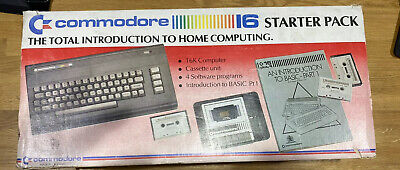 Commodore 16 Computer. BOXED. WORKING