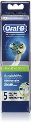 Lot of 120 -Oral-B Floss Action Replacement Electric Toothbrush Head 5 Count
