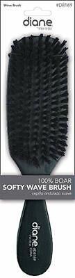 Diane #8169 100% Boar Softy Wave Brush, boar bristles, reinf