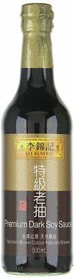 Lee Kum Kee Premium Dark Soy Sauce,16.9-Ounce