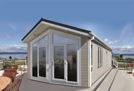 Static caravan luxury lodge for sale at Hoburne Bashley in the New Forest, Hampshire