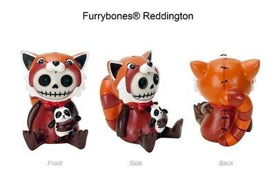 FURRYBONES FIGURINE - REDDINGTON THE FOX SKULL SKELETON IN COSTUME - 1ST ON EBAY - The Fox Costume