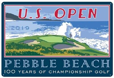 2019 US OPEN (Pebble Beach) PUB SIGN