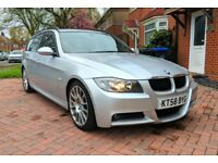 BMW 320d E91 Edition M Sport Touring Estate 2008 - £140pa Road Tax and 60mpg! PX OR SWAP POSSIBLE!