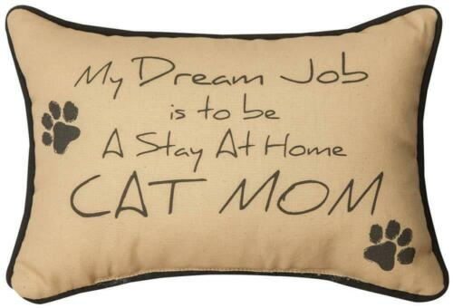"""MY DREAM JOB"" WORD PILLOW"