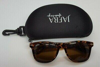 Jafra Women Brown Cheetah Print Sunglasses With Zippered Black (Cheetah Print Sunglasses)