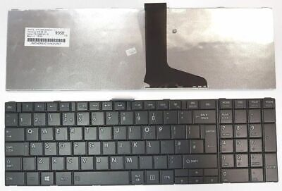 Toshiba Satellite Pro C850 C855 C850D C870 L850 L855 Laptop Keyboard Black UK ()