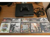 Sony Playstation 3 slim 120GB (PS3) *With Games*