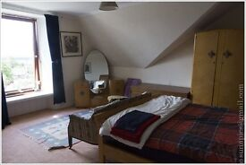 Quiet king-size room in west Helensburgh - unexpectedly available again