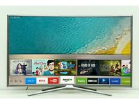 "Samsung 32"" LED SMART WI-Fi TV BUILT IN HD FREEVIEW new k"