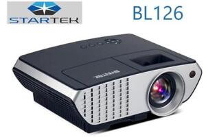 Smart WiFi Projector LED 2500 lumens* HIGH Quality LOW Price * 6mois de garantie projecteur intelligent cinéma-maison
