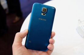 GALAXY S5 BLUE UNLOCKED