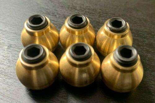 BRASS Coolant Hose Nozzle 15 MM   6PCS