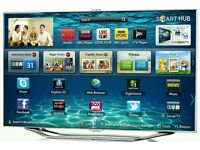 "Samsung 46"" LED smart 3D tv builtin USB media player HD"