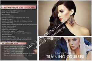 Russian Remy Hair Extensions Training Courses Master Class Morningside Brisbane South East Preview