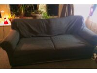 Very comfortable, cushioned sofa for 3-4 people