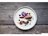TIMBERYARD chef de partie and pastry chef needed